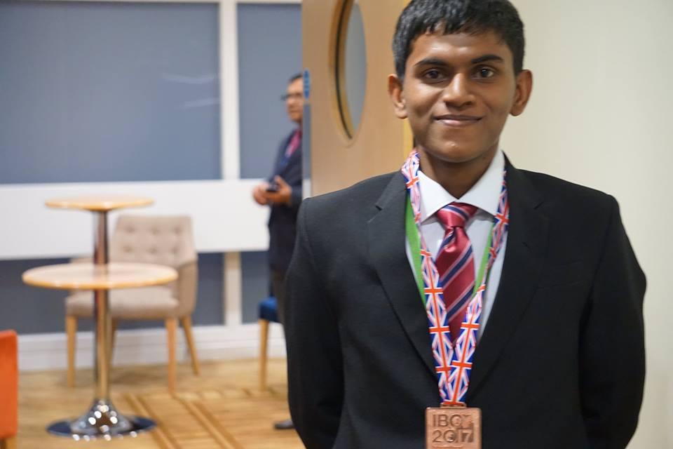 Dilshan Weerasinghe IBO Bronze Medalist R