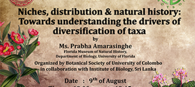 Niches, distribution & natural history: Towards understanding the drivers of diversification of taxa