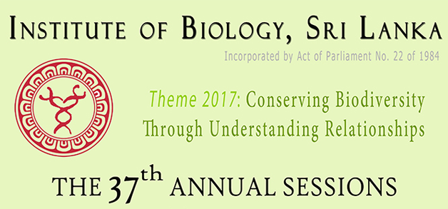 The 37th Annual Sessions of the Institute of Biology, 2017